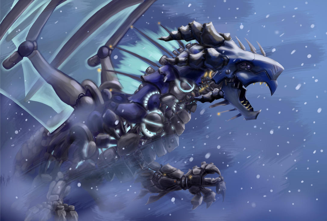 Meca snow dragon by motterhorn