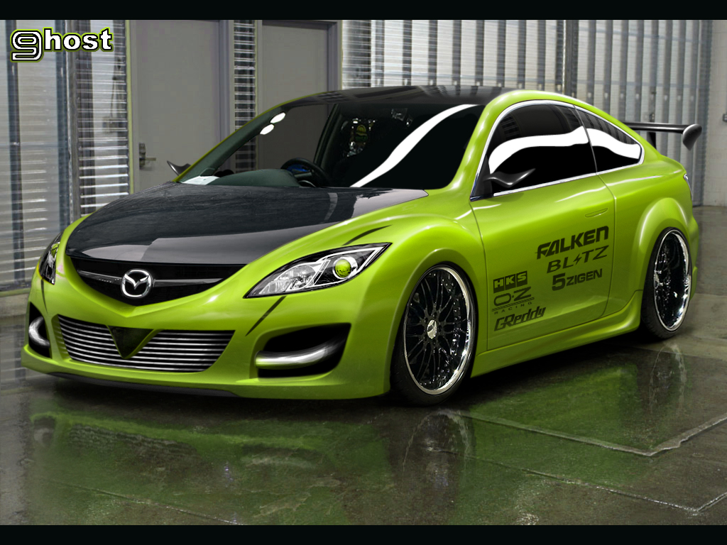 Mazda 6 - Racing by Udi16 on DeviantArt