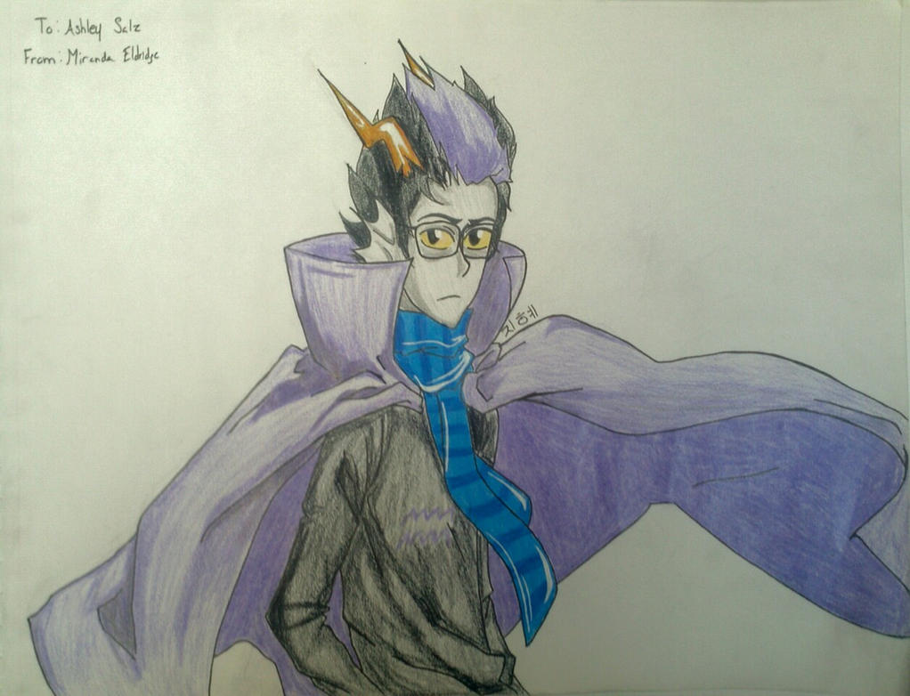 Gift: Eridan by YouJustGotAnimated