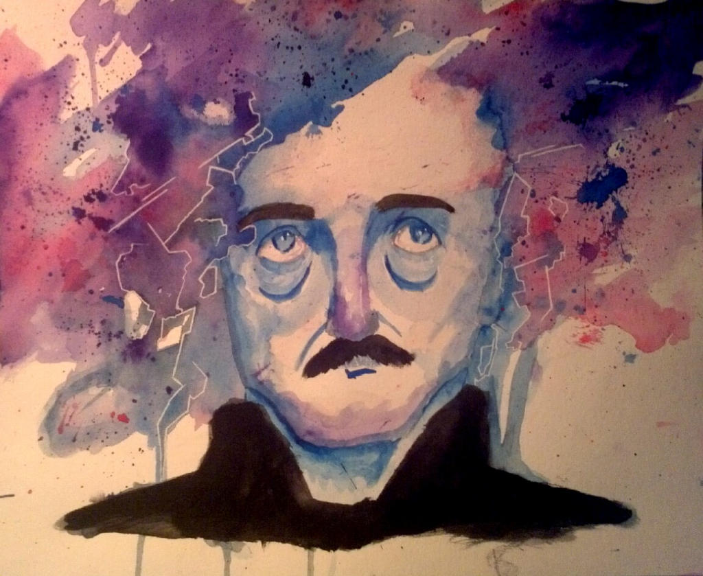 Edgar Allan Poe by YouJustGotAnimated