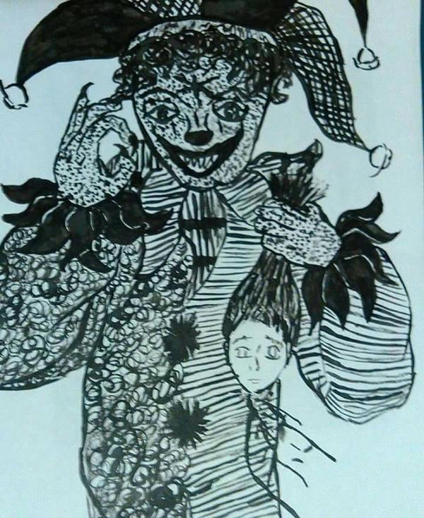 Demon clown by AnglisMortes on DeviantArt