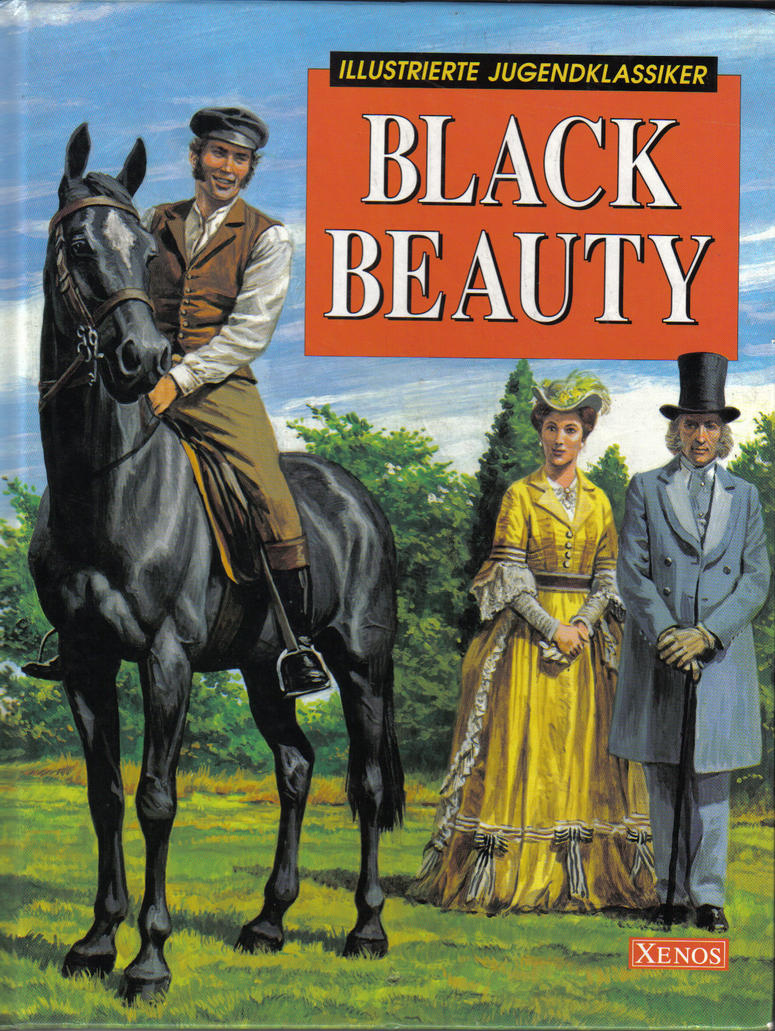Book Cover Of Black Beauty ~ Black beauty novel cover by blacknightingale on deviantart