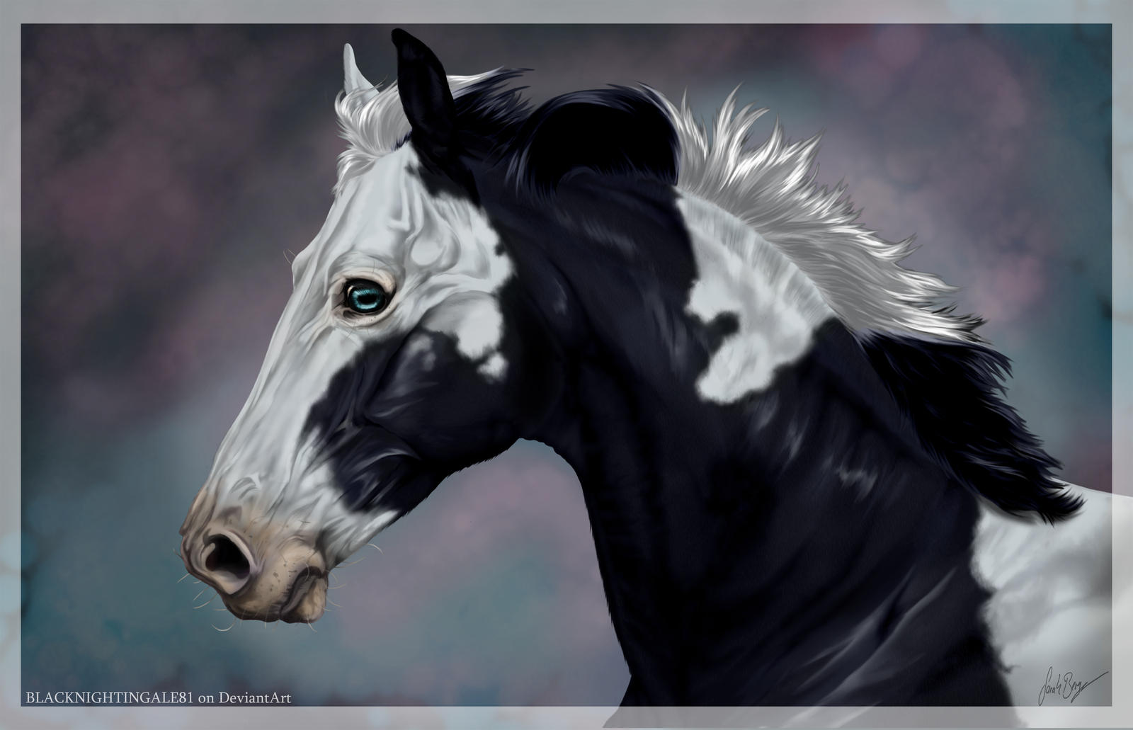 Horse Eyes Painting Paint Horse by