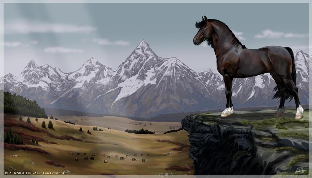Watching the Herd by BLACKNIGHTINGALE81