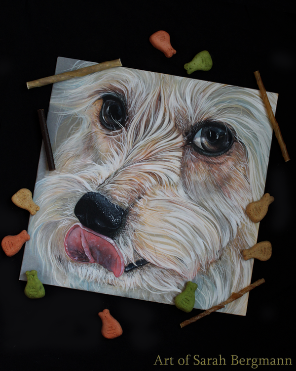 All the treats.. ( Acrylic Painting ) by ooBLACKNIGHTINGALEoo