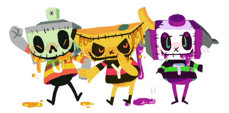 The Terrible Trio by Obsequious-Minion