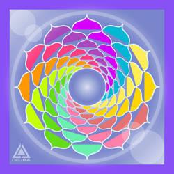 Mandala Colores Fresh - INKSCAPE