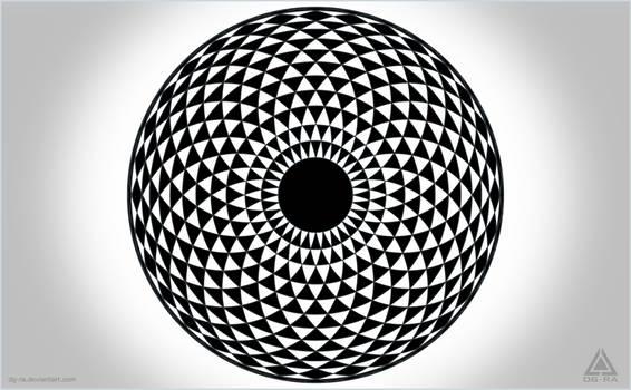 Mandala Geometric EYE - INKSCAPE