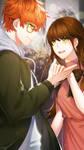 Valentine's day with EYES by DaniMiruku