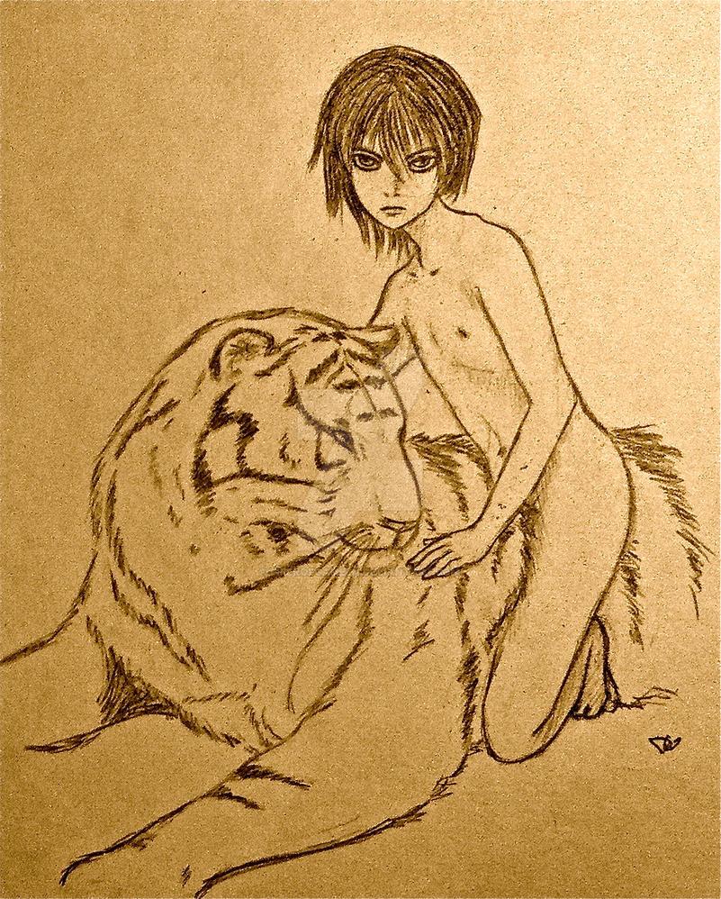 Mowgli by PiperOfGameln