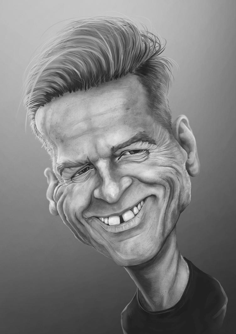 Bryan Adams caricature by grafik1991