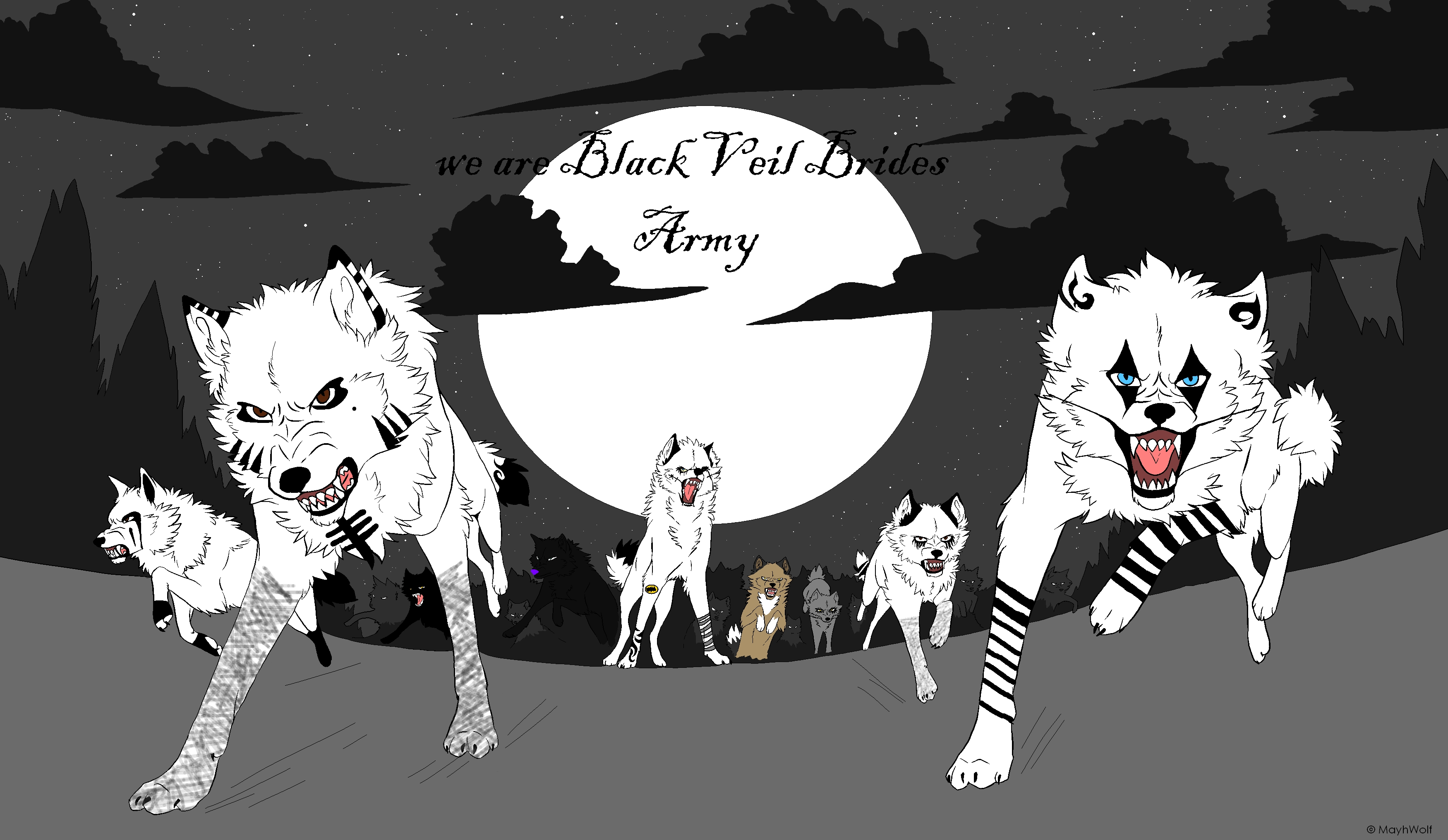Black Veil Brides - Knives and Pens (Kid Version) - YouTube