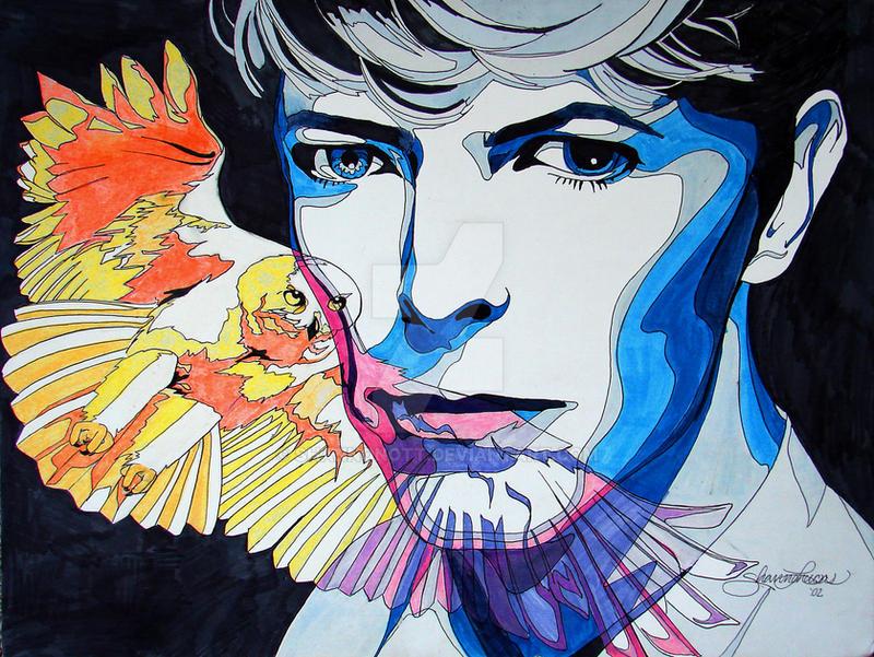 Bowie Owl by shannonott