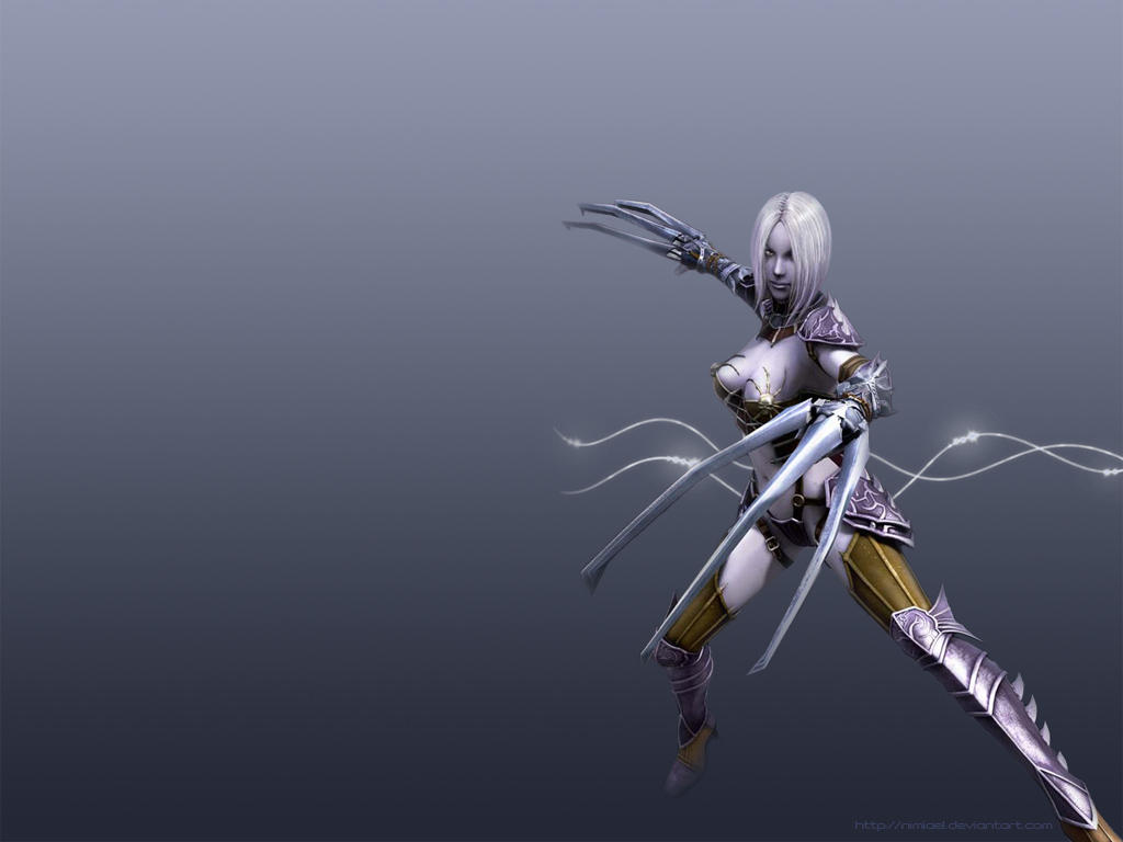 Shayia Drow Wallpaper by Nimiael