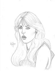 Tanya Roberts as Stacey Sutton by redsonya131313
