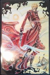 New York Comic Con 2013 - Trigun Print by NewYorkVash
