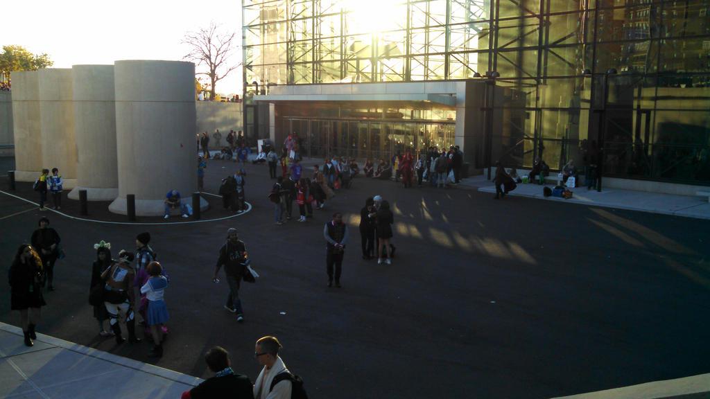 New York Comic Con 2014 - Outside by Mareklos