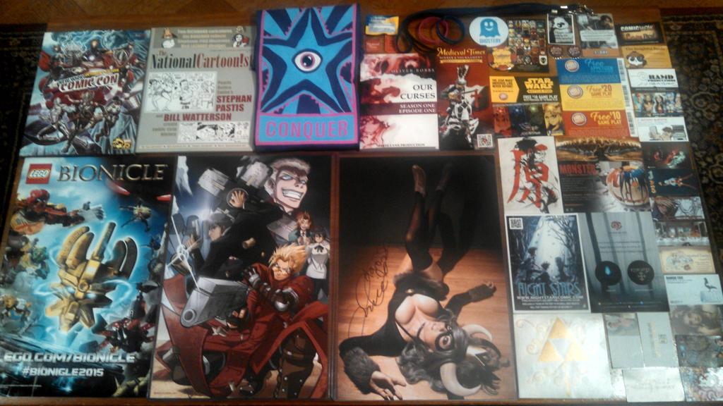 New York Comic Con 2014 - All the Stuff by Mareklos