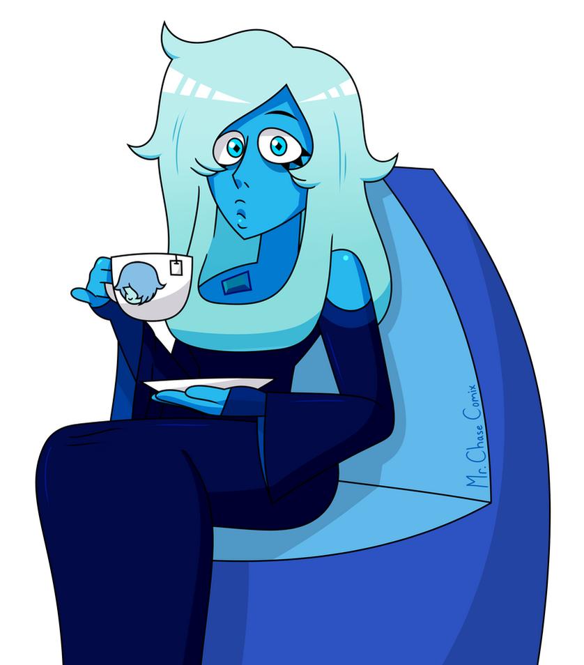 Morning Blue Diamond Remake by MrChaseComix
