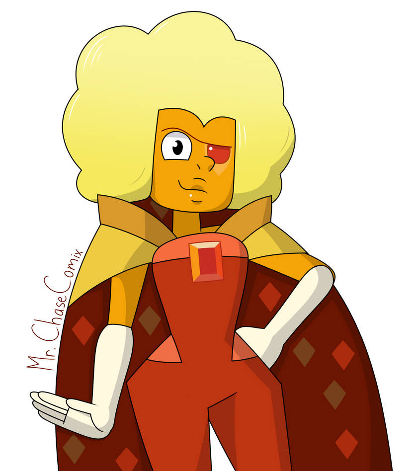 Hessonite (Old Art) by MrChaseComix