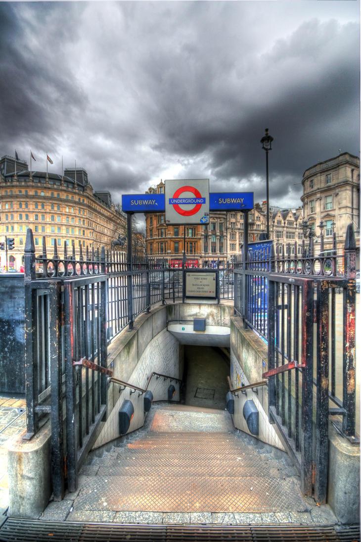 London Underground II by JWalkerimages