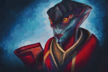 Mass Effect:Javik by GeneralCornetto