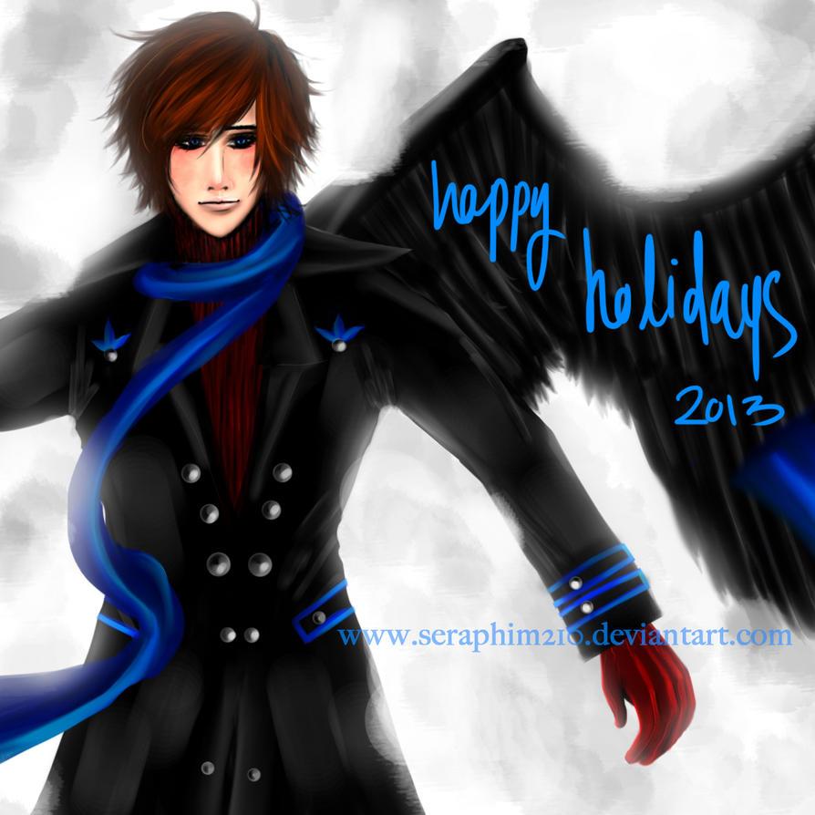 Genesis - SnowAngel - Happy Holidays 2013 by Seraphim210