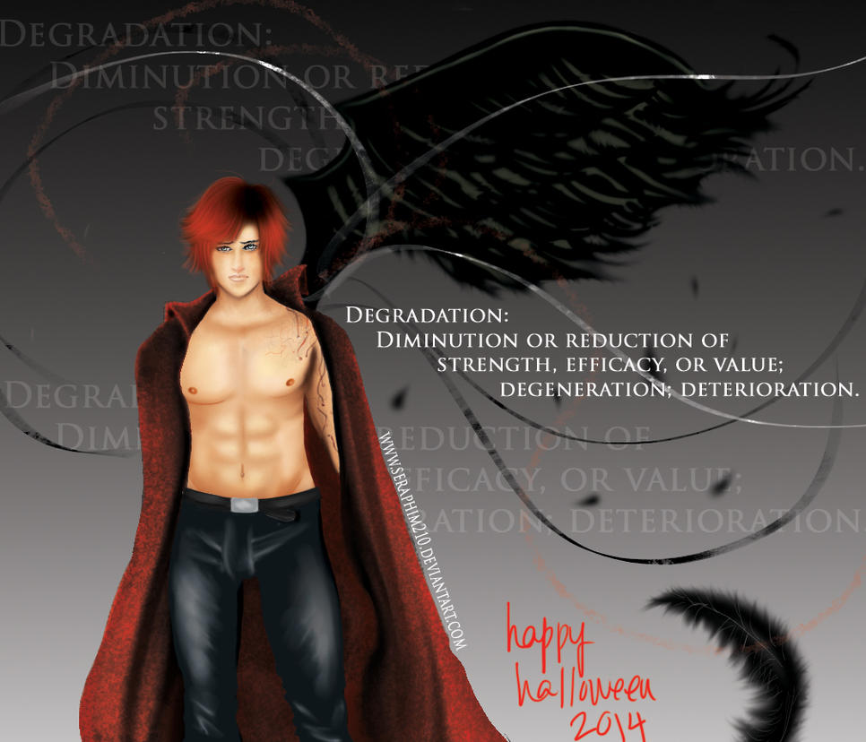 Degradation - Genesis - Happy Halloween 2014 by Seraphim210
