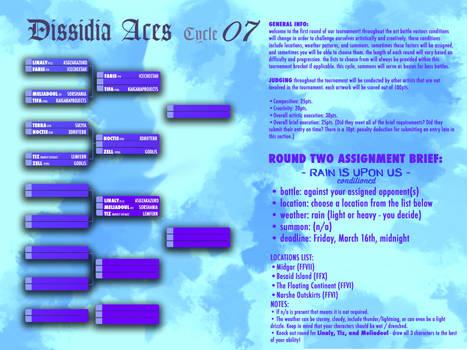 DISSIDIA ACES TOURNAMENT BRACKET - CYCLE 07 - R2