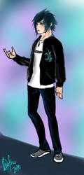 Noctis's Trendy Outfit by xDrifterr