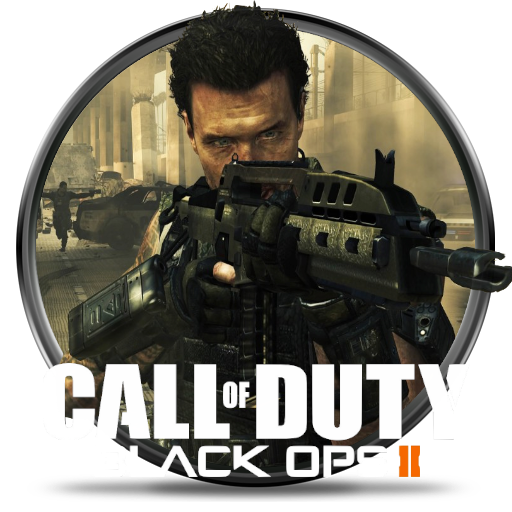 Call Of Duty Black Ops 2 Wallpaper: Call Of Duty: Black Ops 2 Game Icon By Fr33kyCr33p On