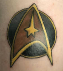 First Tattoo - Boldly Go!