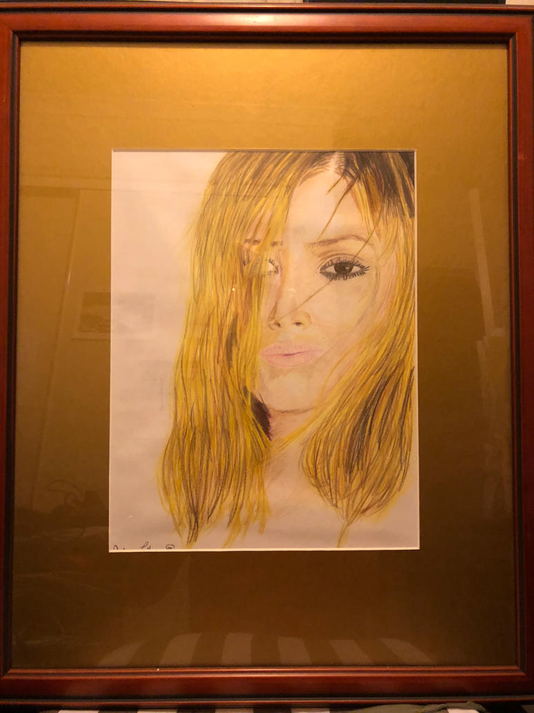 Colour Pencil Practice - Framed by elmy001