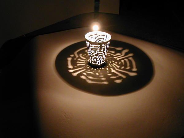 cup sculpture: circuits