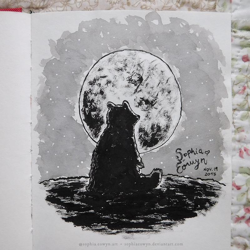 Moon Bear by SophiaEowyn