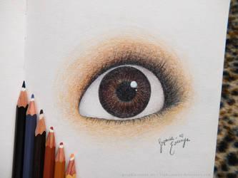 Eye Practice by SophiaEowyn
