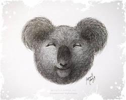 Smiley Koala - For @SweetFoxRox