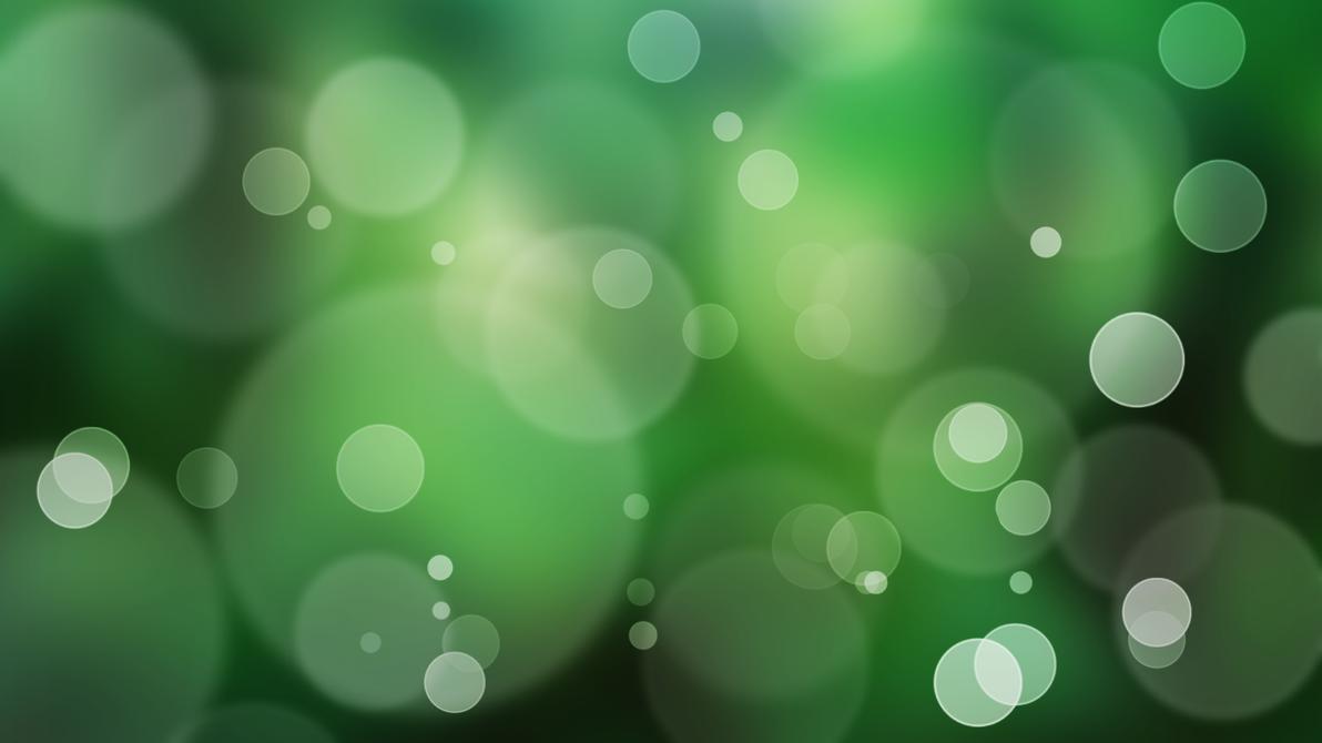 Green Jungle Bokeh Wallpaper By Genaynay Background Hijau