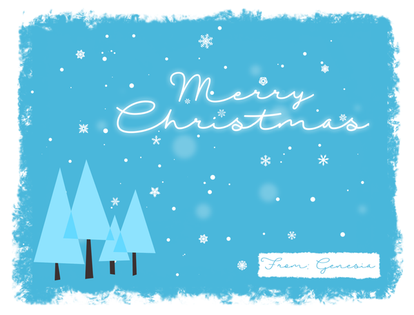 2015 Christmas Card Design - 1 by GENAYNAY