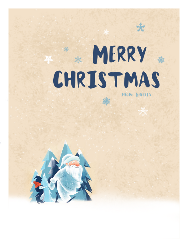 2015 Christmas Card Design - 4 by GENAYNAY