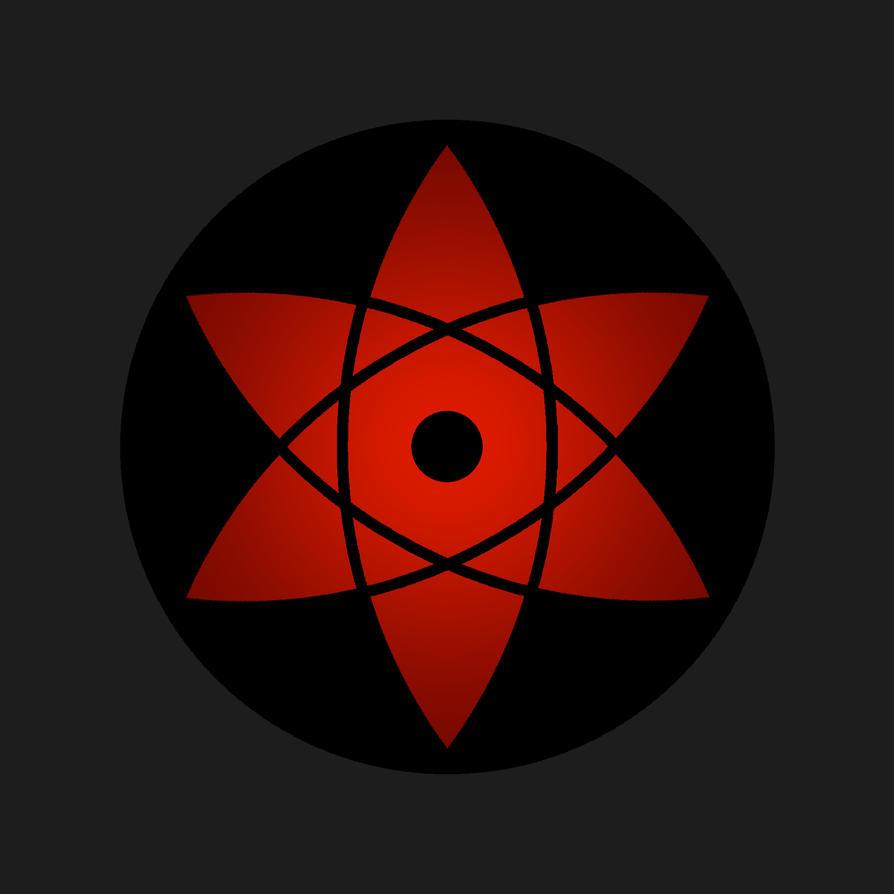 sasukes mangekyou sharingan by alphaelement on deviantart