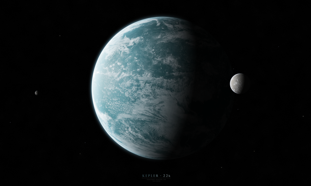 Kepler-22b by Alpha-Element