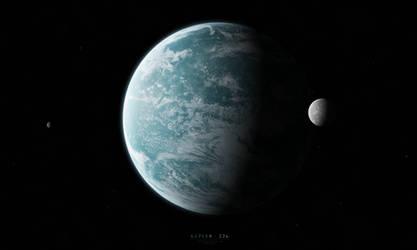 Kepler-22b by Alpha-Element