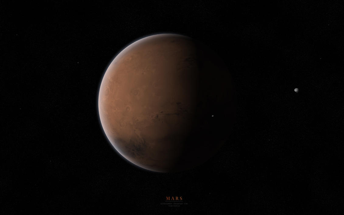 Mars by Alpha-Element