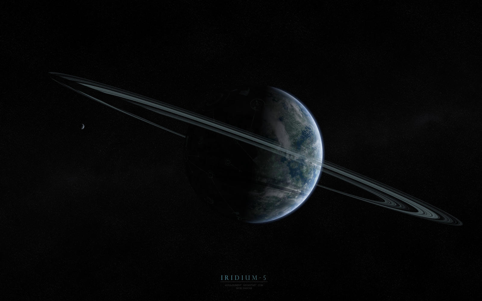 Iridium - 5 by Alpha-Element