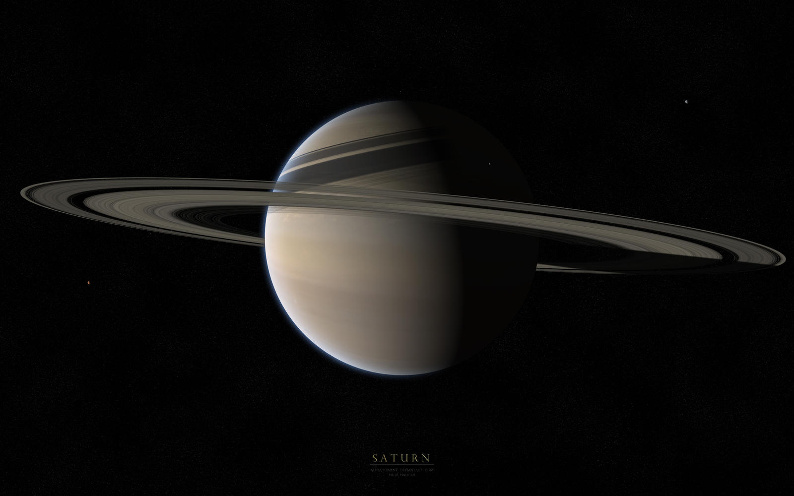 Saturn by Alpha-Element