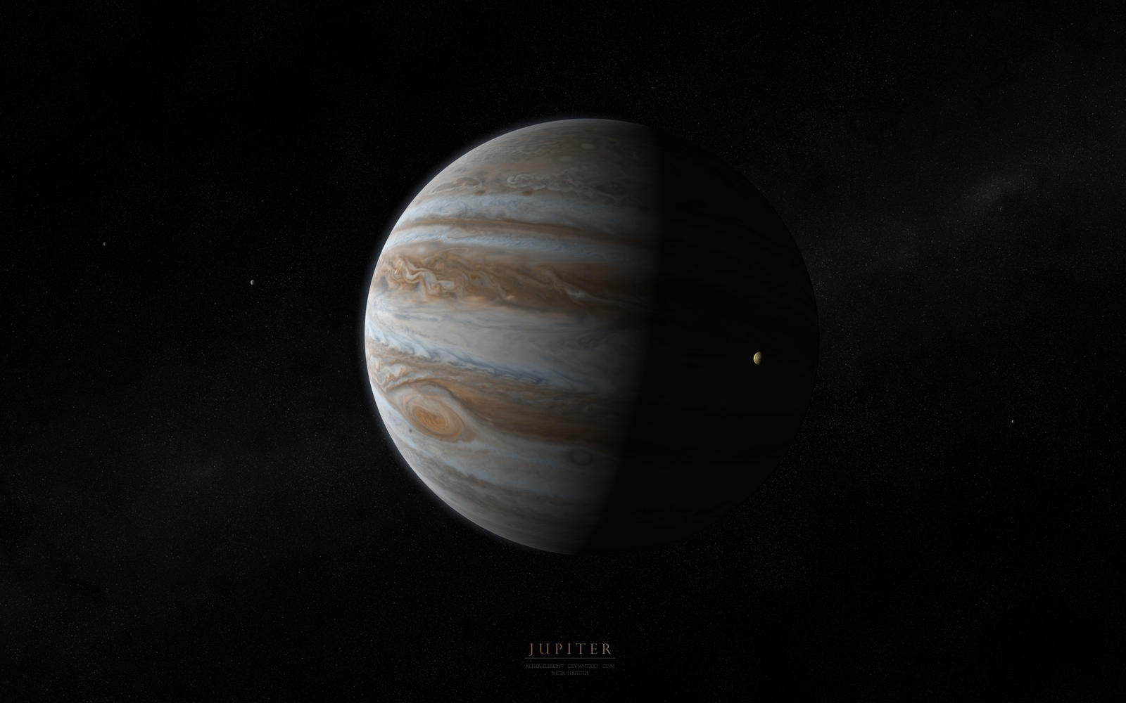Jupiter by Alpha-Element