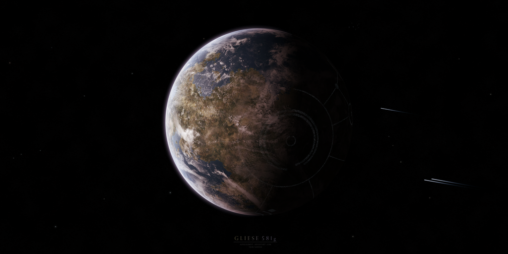 Gliese 581g by Alpha-Element on DeviantArt