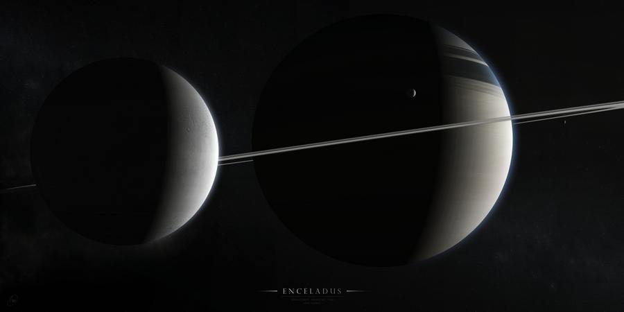 Enceladus by Alpha-Element