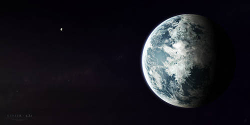 Kepler-62f by Alpha-Element